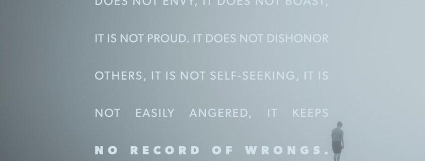 1 Corinthians 13:4-5