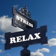 street size intersection of stress and relax